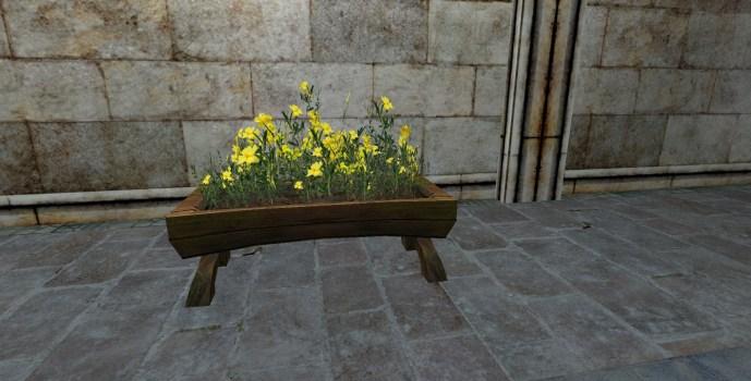 Jardinière Surélevée de Roses de Roche
