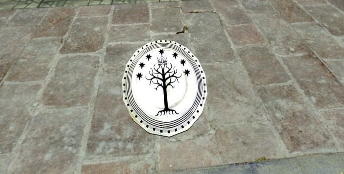 Plateau de service Gondorien (Gondorian Serving Platter)