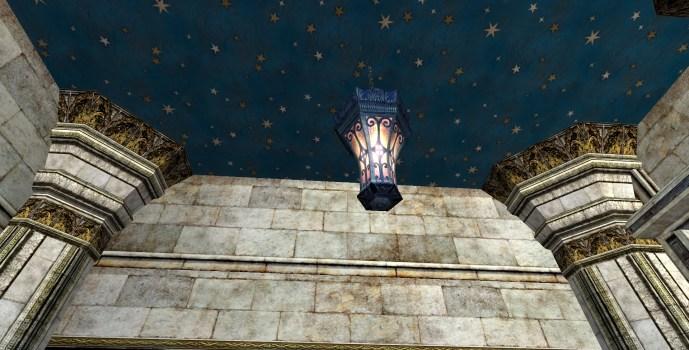 Lanterne suspendue évasée