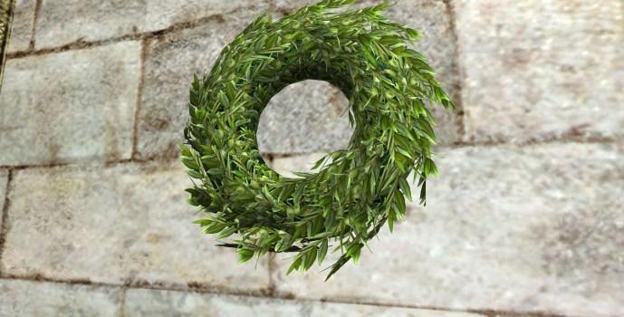Couronne verte du Solstice d'été (Green Midsummer Wreath)