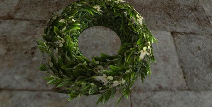 Couronne de Myrte du Solstice d'été (Myrtle Midsummer Wreath)