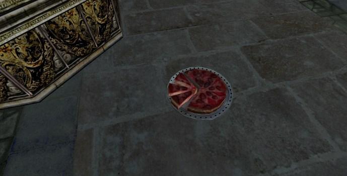 Tarte aux fruits coupée (Sliced Fruit Pie)