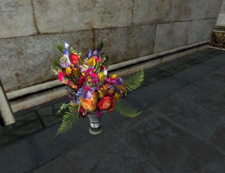 Vase du Solstice d'été – Arrangement festif