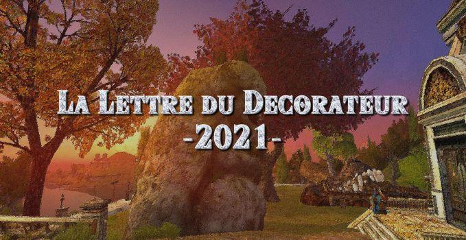 La Lettre du Décorateur – 2021