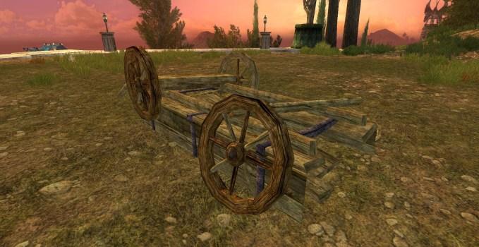 Chariot renversé