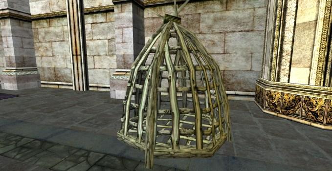Petite cage arrondie