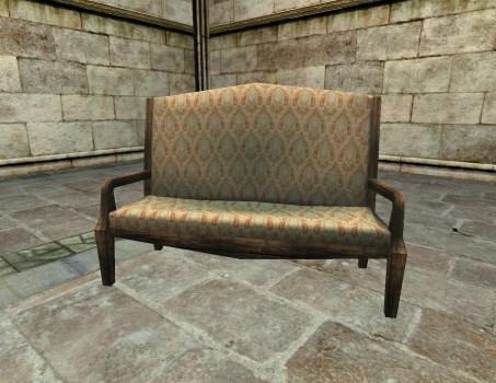Canapé pour grands visiteurs de mémé