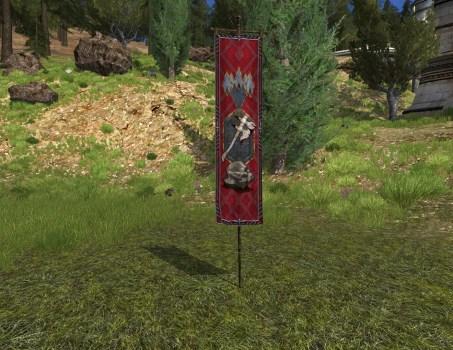 Bannière de Thrain des Longues Barbes (2799 T.A.)