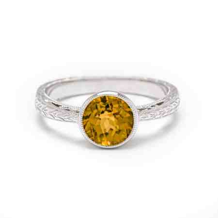White Gold Citrine