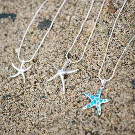Dancing Starfish Necklace 1