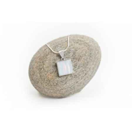 Opal Square Necklace 3