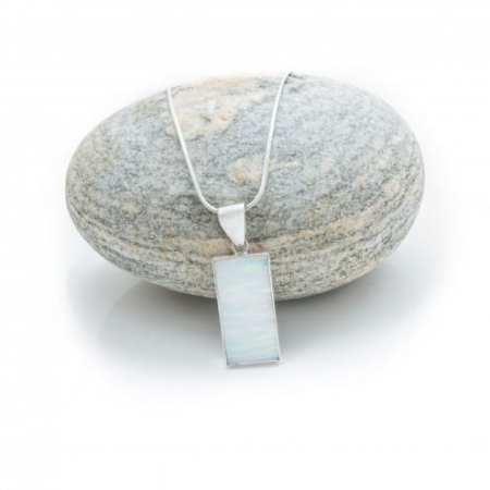 Opal Bar Necklace 3