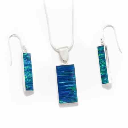 Opal Bar Necklace 1