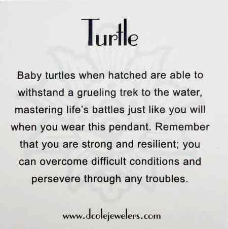 Turtle Pendant 2