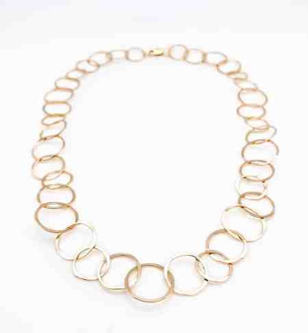 Circle Link Necklace 3