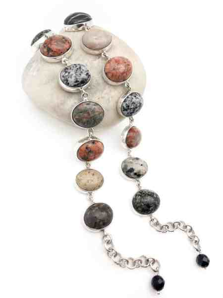 Maine Beach Stone Bracelet 4