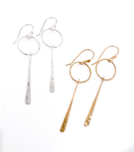 Dangling Pendulum Earrings 1