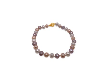 Natural Multiple Color Freshwater Pearl Bracelet 1