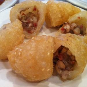 Dumpling frit au porc