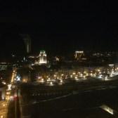 la vue de ma chambre la nuit au Delta!