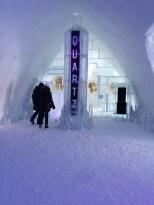Quartz Hôtel de glace