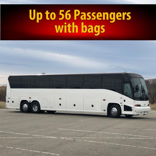 56 PASSENGERS COACH