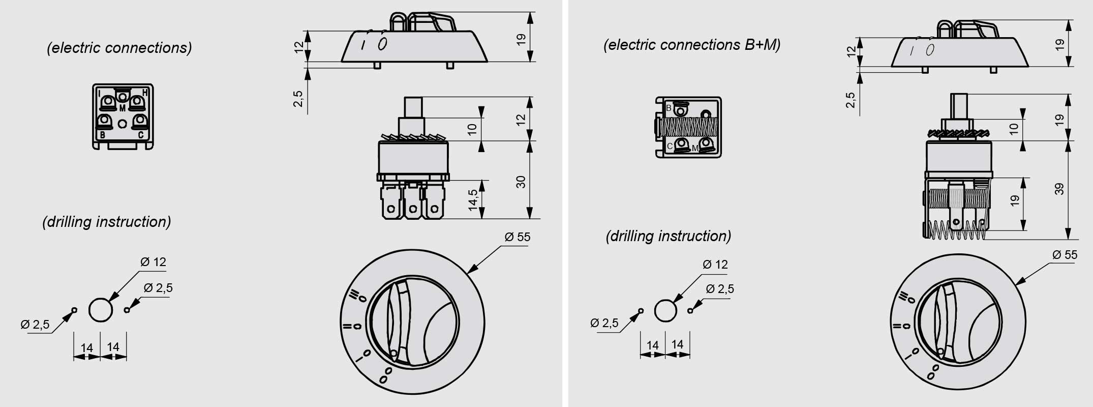 Electrical Rotary Switch Resistor