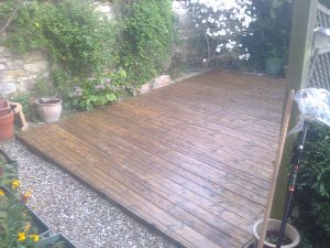 Decking Cleaned by DCS Cleaning