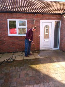 A cleaner, safer and better looking front entrance.