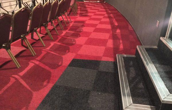 Desso Lita carpet tiles at ATHENA Leicester