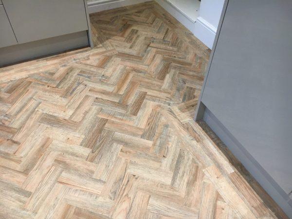polyflor camaro LVT flooring in leicester