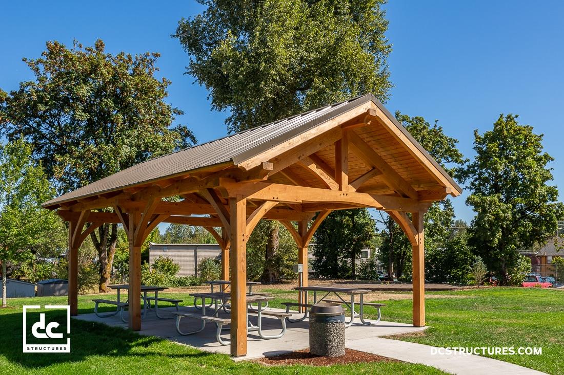 timber frame pavilion kits pergola