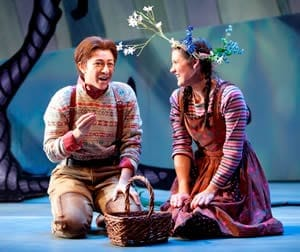 Julia Mintzer as Hansel and Shantelle Przybylo as Gretel. 2012's production of Hansel and Gretel. (Photo:Scott Suchman)