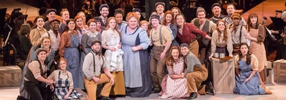 The cast of the PBS production of Carousel