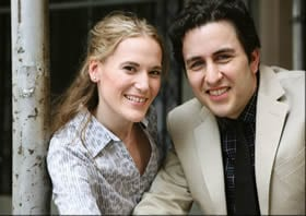 Producers Anna and Alan Ostroff (Photo Courtesy of Infinity Theatre Company)