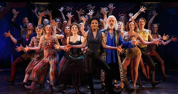 The cast of Pippin (Photo: Joan Marcus)