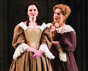 Aaryn Kopp as Thekla and Diane D'Aquila as Countess Czerny  (Photo: Scott Suchman)