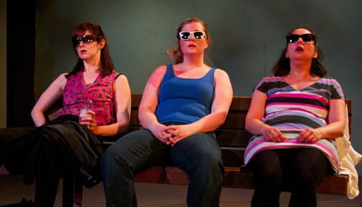 (l-r) Rebecca Ellis, Karina Hilleard, Toni Rae Salmi (Photo:  Lucas Zuniga)