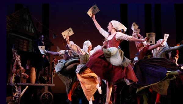 Laura Osnes and the ensemble of Rodgers + Hammerstein's Cinderella (Photo: Carol Rosegg)