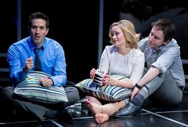 (l-r) Matthew Scott;  Erin Driscoll and James Gardiner (Photo: Scott Suchman)
