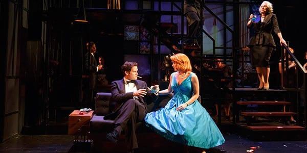 Steven Pasquale, Kelli O'Hara, and company. (Photo: courtesy of Playwrights Horizon)