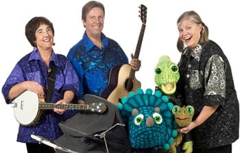 The cast of Dinosaur Babies