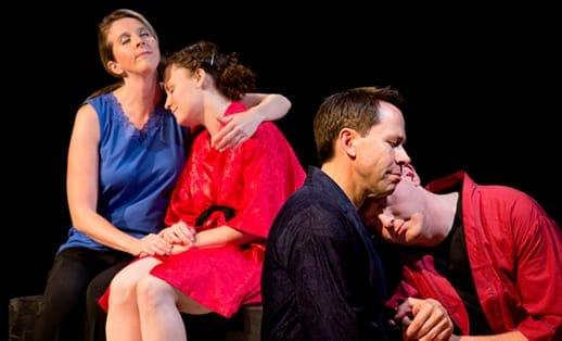 Esther Covington, Mary Beth Luckenbaugh, Steve Lebens, and Chad Fornwalt (Photo:  Johannes Markus)