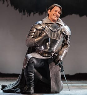 Nathan Gunn as Lancelot (Photo: Karli Cadel/The Glimmerglass Festival)