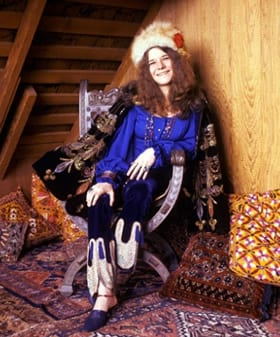 Janis Joplin. Source: JanisJoplin.com Photo: Baron Wolman