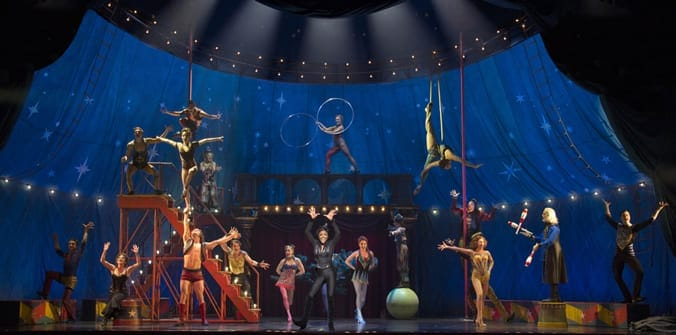 Cast of the Broadway revival of Pippin (Photo: Joan Marcus)