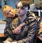 Cast members Kate Eastwood Norris and Brad Koed