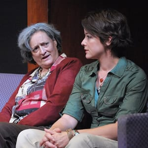 (l-r) Nancy Robinette and (Photo: Stan Barouh)
