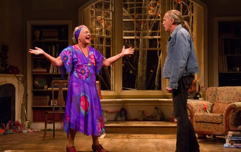 Estelle Parsons as Alexandra and Stephen Spinella as Chris (Photo: Teresa Wood)