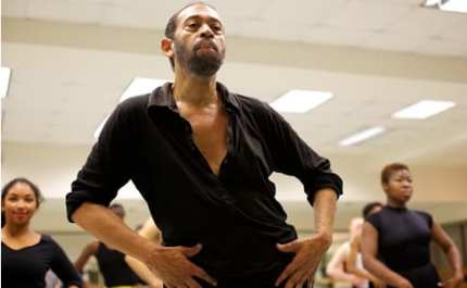 Maurice Hines teaches a master class at Howard University (Photo: Ryan Maxwell)